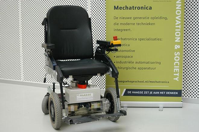 Slimme rolstoel
