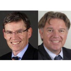 Bart Berden (links) en Marcel Visser