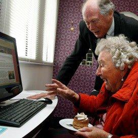 Online ondersteuning succes in langdurige zorg