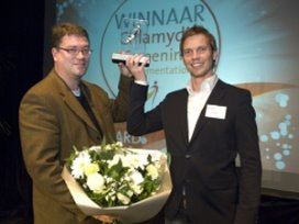 Chlamydia screening project wint Spider Award 2009
