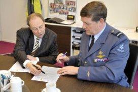Verpleegkundigen Luchtmacht opgeleid door SEH Amphia