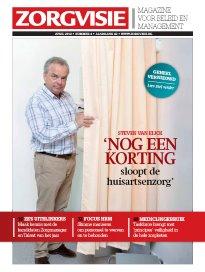 Nieuwe vormgeving Zorgvisie magazine