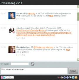 Live debat: Prinsjesdag-plannen 2011