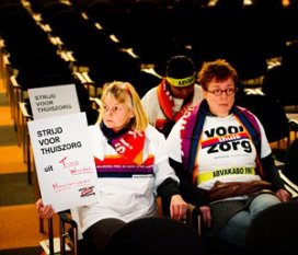 Abvakabo start actie tegen cao VVT