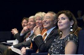 De jury en Claudia Zuiderwijk
