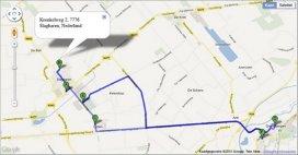 Allerzorg plant zorgroutes via Google Maps en Streetview