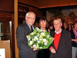 Foto v.l.n.r: Voorzitter raad van bestuur Theo Solen; Erna ten Have