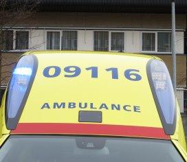 Ambulancepersoneel houdt stiptheidsacties