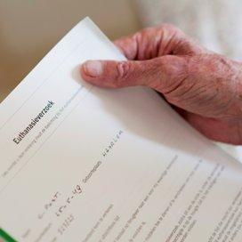 Aantal euthanasiemeldingen neemt opnieuw toe