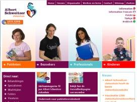 Top-10 ziekenhuiswebsites: Albert Schweitzer tot beste verkozen