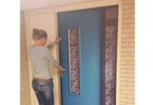 Een gepersonaliseerde voordeur in een locatie van Zorggroep Charim.