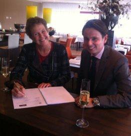 Aafje verlengt contract met Holland Food Service