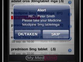 iPhone app voor bevordering therapietrouw