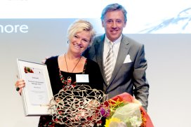 Inge Borghuis is Business Improvement Manager 2012