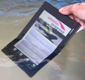 Antonius maakt app voor hulp op het water