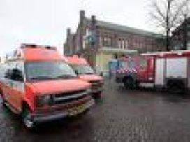Vrouw zwaargewond door brand bij Cordaan