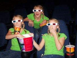 Zorg aan de man in 3D bioscoop van Zorgtrailer