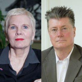 Henriëtte Maassen van den Brink en Wim Groot