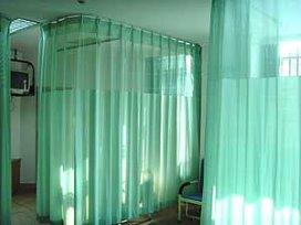 Gordijnen in ziekenhuizen vaak vol bacteriën