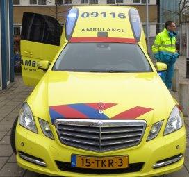 Ambulancepersoneel gaat werk onderbreken