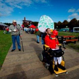 Protest gehandicapten tegen kabinet