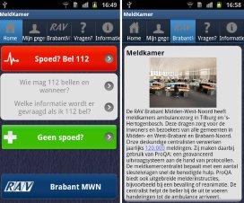 Ambulancedienst lanceert app voor hulpverlening