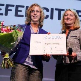 Innovatieprijs voor pijnvermindering borstkankerscreening