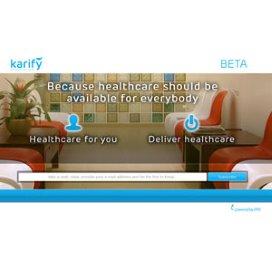 'Karify is een ecosysteem voor e-health'