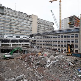 Foto van de nieuwbouwlocatie Erasmus MC