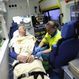 Ambulancemedewerkers voeren actie