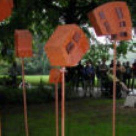 Foto's en routebeschrijving van Kunstroute 'Gedicht in Beeld'