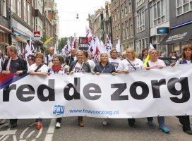 Vakbond FNV boycot Zilveren Kruis Achmea