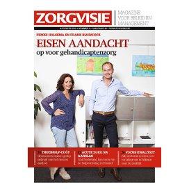 Cover Zorgvisie magazine nr 8