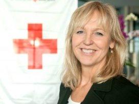 Inge Brakman voorzitter Rode Kruis