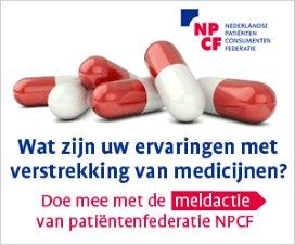 'Patiënten van kastje naar de muur voor medicijnen'