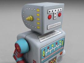 Pratende robot helpt mensen met overgewicht