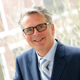 Bestuursvoorzitter Michel Galjee van het Waterlandziekenhuis in Purmerend.