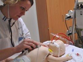 Babypop vervangt lammetjes voor ECMO-training