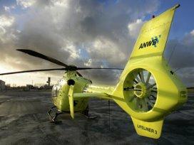 Poll: Ambulanceheli's goed tegen lange aanrijtijden