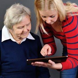 Consumentenelektronica sluipen de ouderenzorg binnen