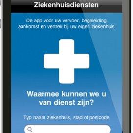 Ziekenhuisdiensten-app reserveert mantelzorg en auto
