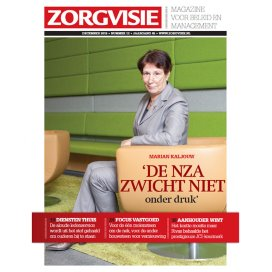 Cover Zorgvisie magazine december 2015