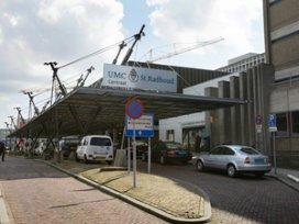 St Radboud spoort maagzweer op in adem