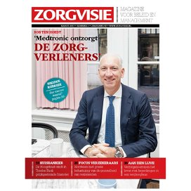 Cover Zorgvisie magazine nr. 3