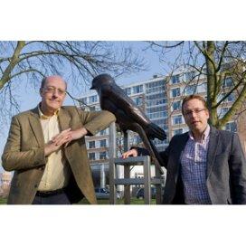 <p>Directeur Ruud Stuurman (links) en adjunct-directeur Martijn Steysel van Roomburgh</p>