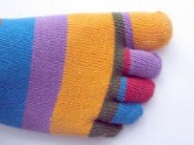 Vrolijke sokken taboe in Britse ambulances