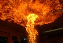 Brand bij Sherpa waarschijnlijk aangestoken