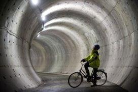 'De tunnel ligt er
