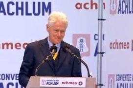 Bill Clinton: 'Ga zo door met Nederlands zorgstelsel'