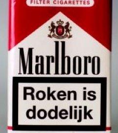 'Waarschuwing op pakje sigaretten werkt niet'